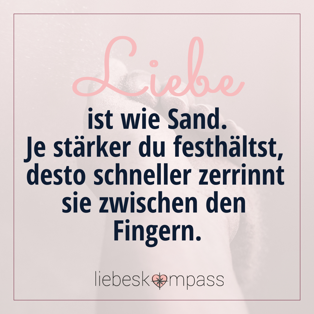 um die liebe kämpfen Sand