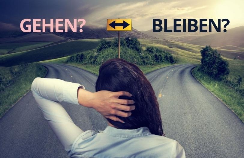 gehen oder bleiben