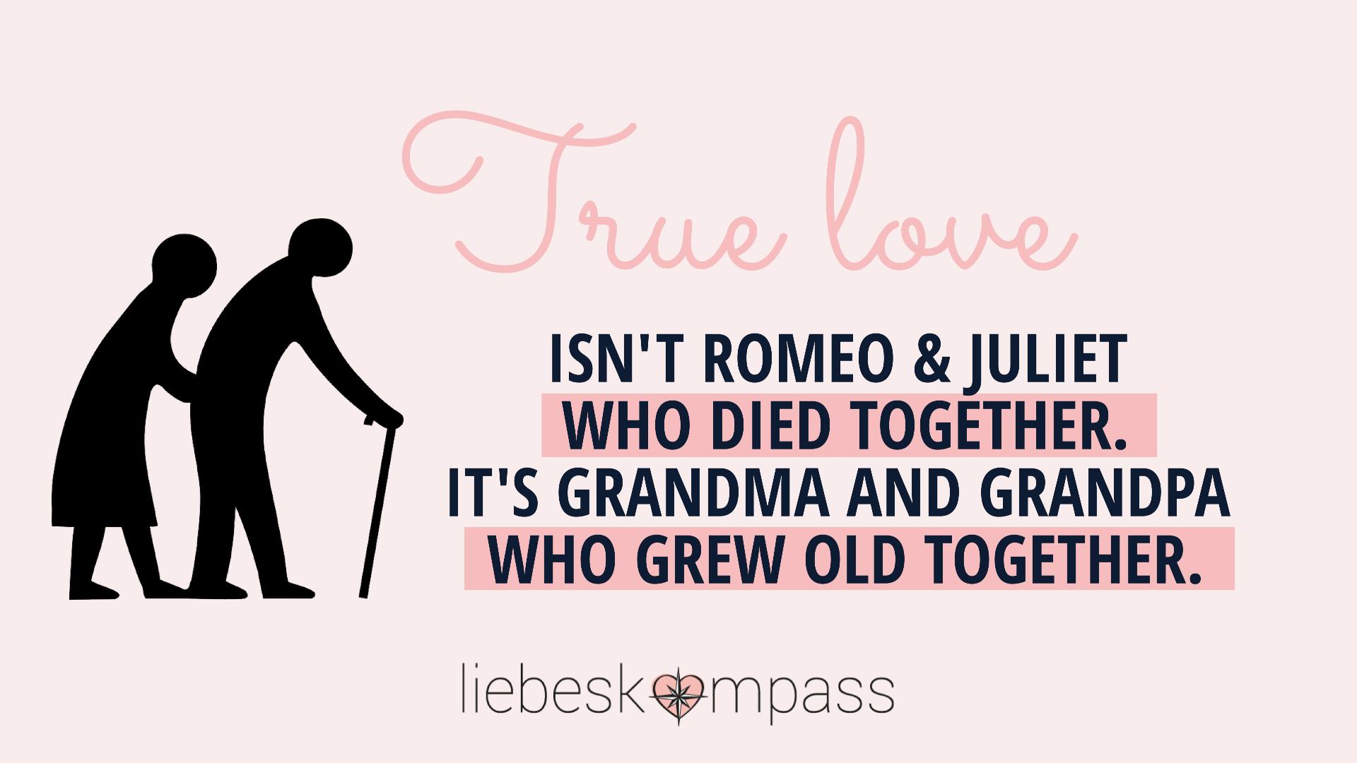 romantische Liebe vs wahre Liebe