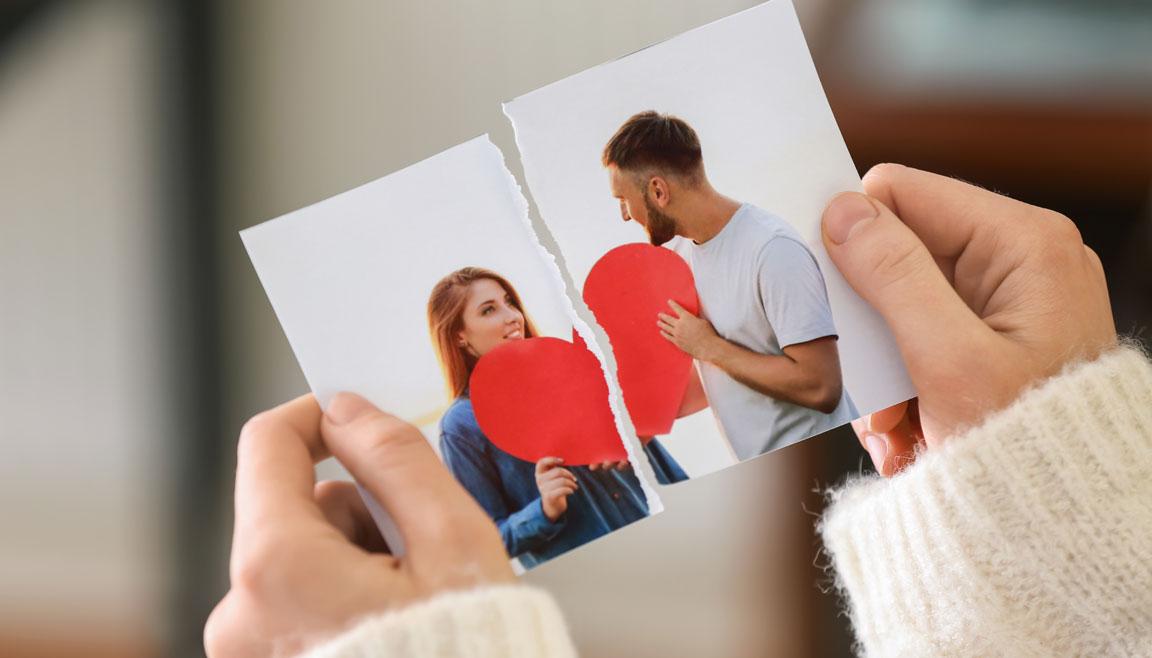 gebrochenes Herz Trennungsschmerz überwinden