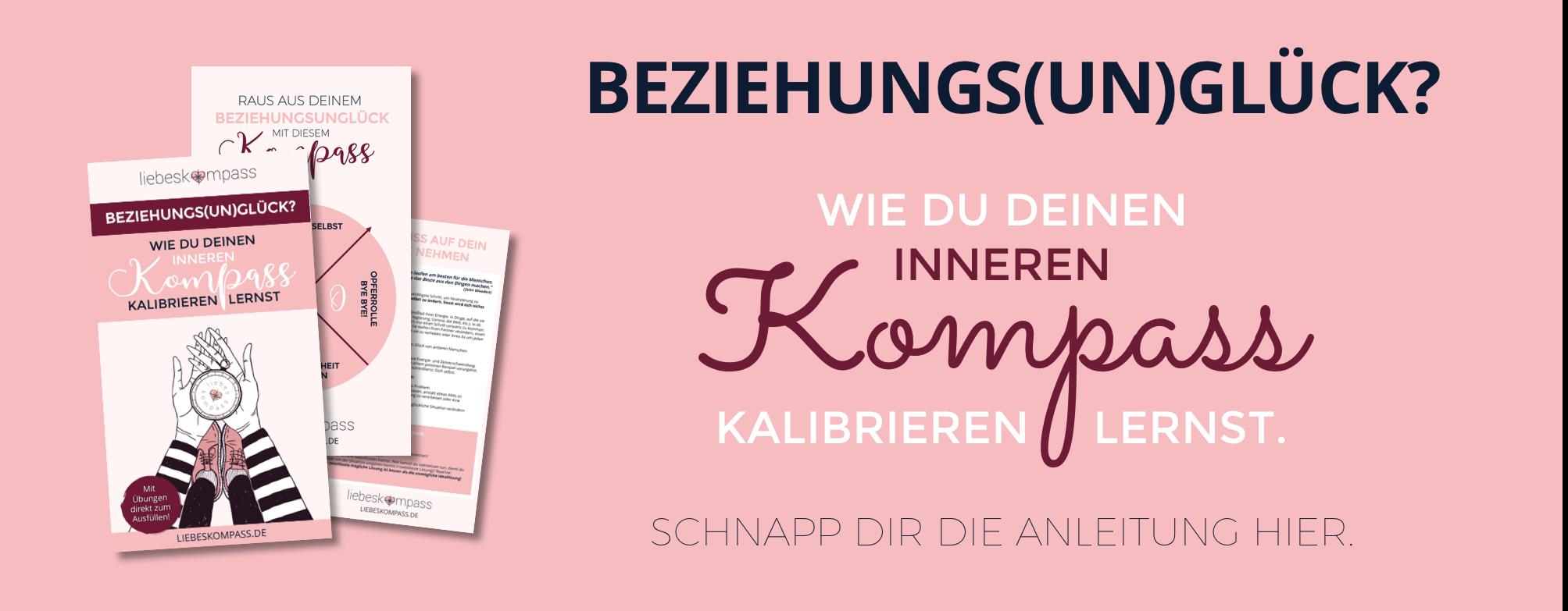 Liebeskompass gratis E-Book innerer Kompass