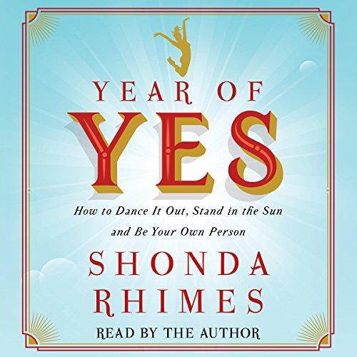 Year of Yes Shonda Rhimes Hörbücher für Introvertierte